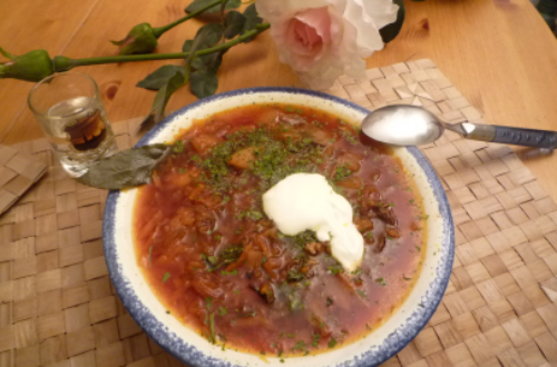 Article : Le subsaharien et la gastronomie ukrainienne