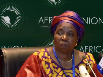 Nkosazana Dlamini-Zuma, au sommet de l'UA. juillet 2012 Source Google