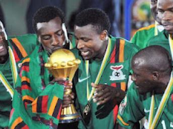 Les Zambiens vainqueurs de la CAN 2012 source Google images