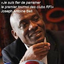 Joseph Antoine Bell le parrain du tournoi des Clubs RFI