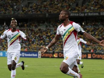 Seydou Keita le capitaine Malien photo de Rogard Ward/REUTERS