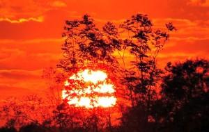 Abendstimmung Sunset Ciel Romance Sun, par LoggaWiggler (via Pixabay, CC)
