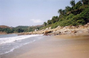 Une plage de Conakry crédit photo : wikimedia commons