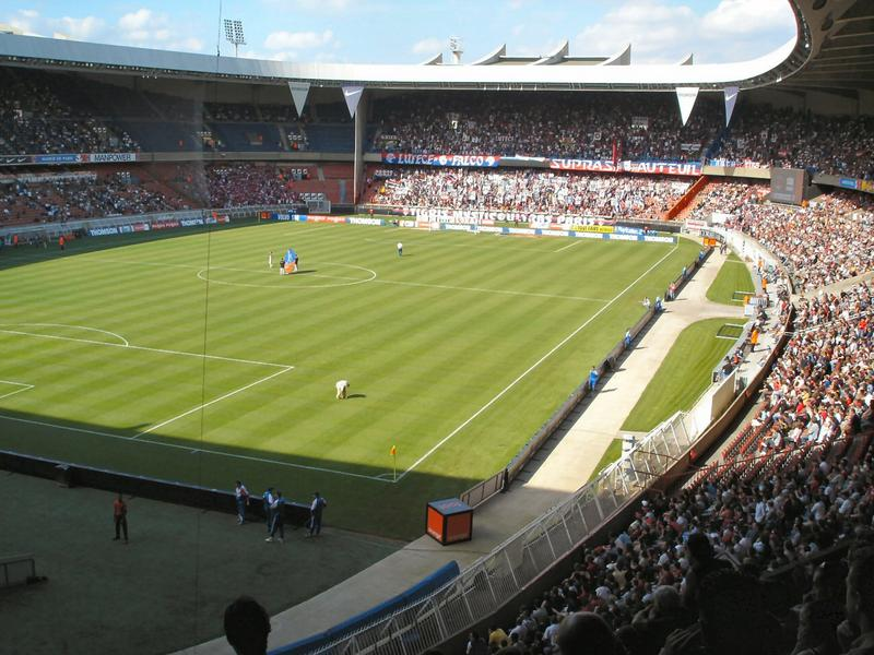 Le Parc des Princes sources Google images
