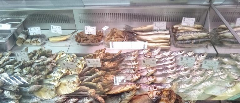 Article : Les poissons toxiques du fleuve Dnipro ?